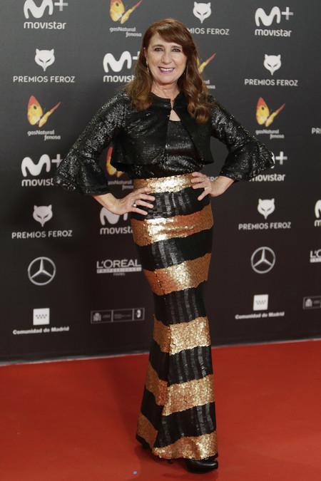 premios feroz alfombra roja look estilismo outfit Gracia Olayo