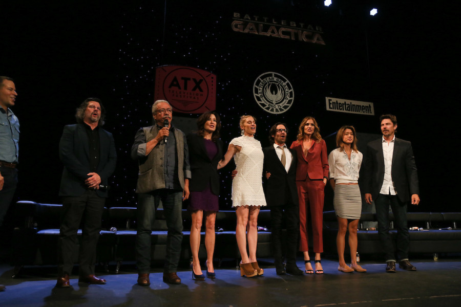 Battlestar Galactica Reunion Cast Panel 3