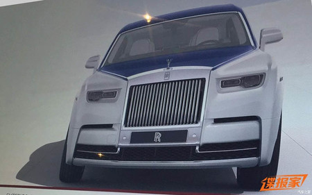 Rolls Royce Phantom Leak