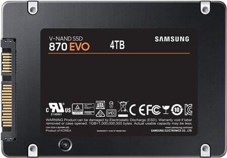 Samsung 870 EVO: se filtran los datos de un SSD con capacidades desde 250 GB a 4 TB de capacidad