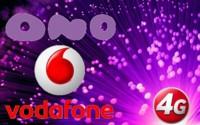 Vodafone ya permite acceder a la red de ONO con su primera oferta convergente de fibra + 4G + TV