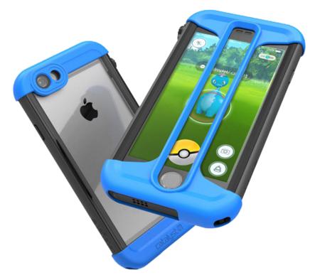 Esta combinación de fundas tiene dos propósitos: no malgastar Pokébolas y proteger el móvil