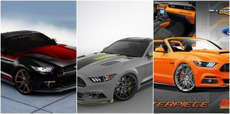 Si visitas Las Vegas estos días, no te puedes perder estos cinco Ford Mustang del SEMA