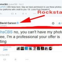 La CBS pide usar gratis sus fotos a David Carson