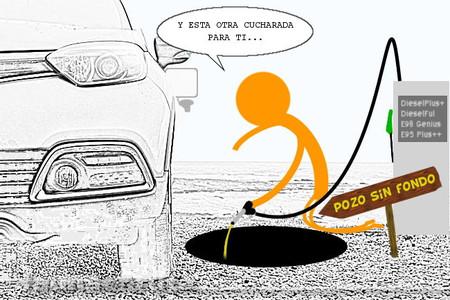fauna en ruta: impuestos a los carburantes