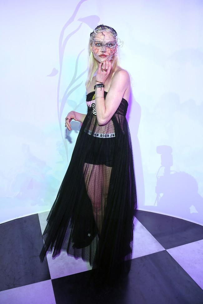 Dior Hc Ss18 Ball Sasha Pivovarova
