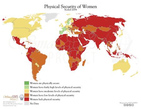 Mapas que demuestran la discriminación de las mujeres en el mundo