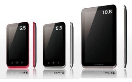 Sharp Galapagos, dos tablets Android que quieren ser lectores de libros electrónicos