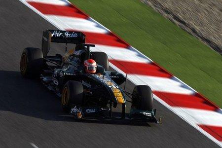 Lotus apunta al podium para 2012