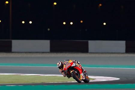 Jorge Lorenzo Test Catar Honda
