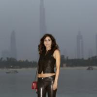 Yasmine Hamdan Chanel crucero look