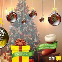 Ahi+ se viste de navidad con una nueva tarifa combinada de fibra y 3GB de datos extra durante tres meses para el resto