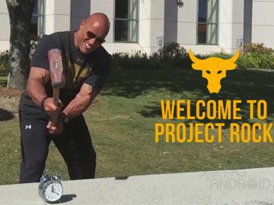 """Dwayne Johnson lanza """"The Rock Clock"""", una alarma para despertar sí o sí"""