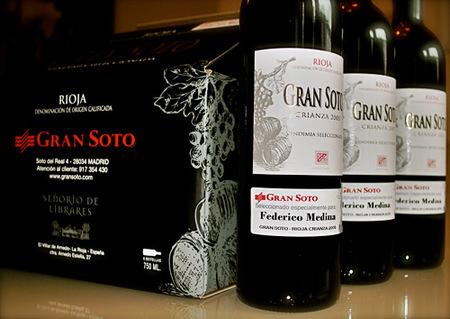 Rioja Crianza 2005, etiqueta personalizable para el día del padre