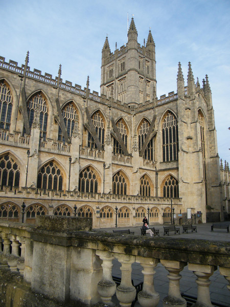 Bath Cathedral Spixey