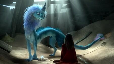 Escena Raya Ultimo Dragon