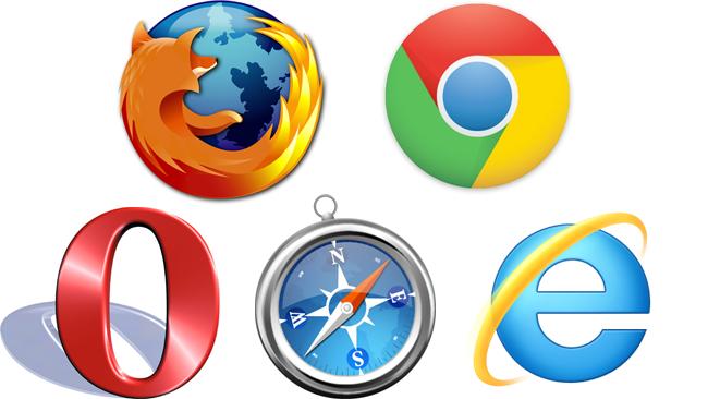 Logo de todos los navegadores