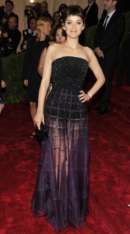 Marion Cotillard met 2012