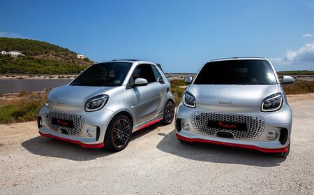 Smart EQ ForTwo Ushuaïa Limited Edition, el subcompacto eléctrico se pone en tono muy mediterráneo