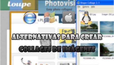 Alternativas para crear collages de imágenes fácilmente