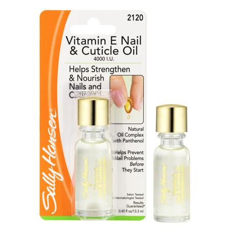 Sally Hansen Vitamin E Moisturizing Nail Cuticle Oil
