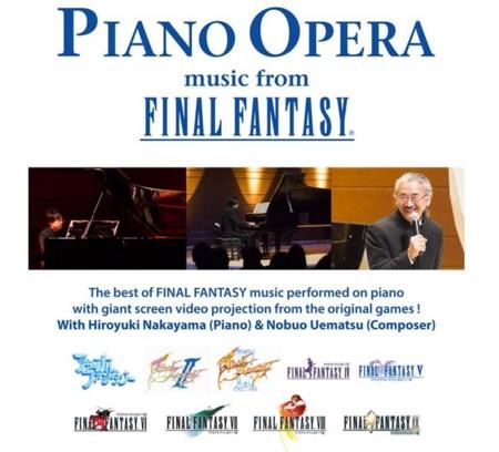 Piano Opera: music from Final Fantasy tendrá un concierto en la ciudad de México en marzo