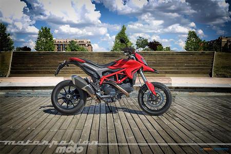 Motorpasión a dos ruedas: vídeo y prueba de la Ducati Hypermotard y el Mulafest 2013
