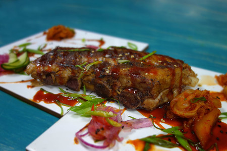 Costillas coreanas de Kitchen 154