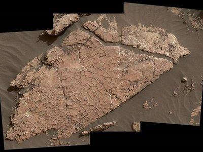 Las primeras grietas de barro en Marte gracias al rover Curiosity
