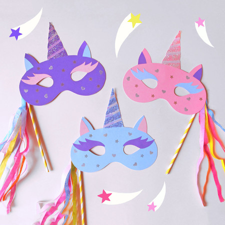 Mascaras de Carnaval para hacer con niños