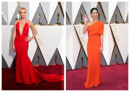 Looks En Rojo Oscar