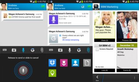 BBM 2.0 para Android