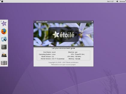 Étoilé, otra alternativa para el escritorio en Linux