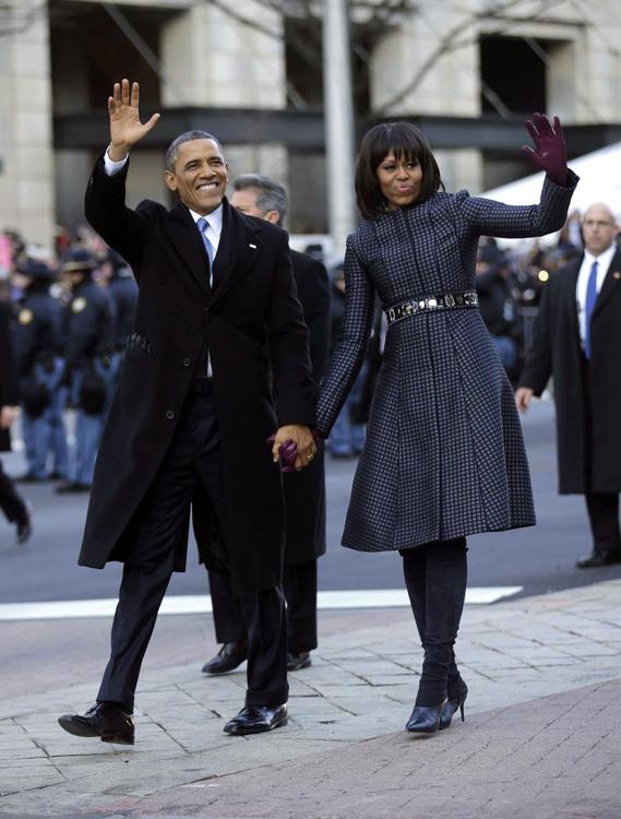 pareja Obama baile 2013