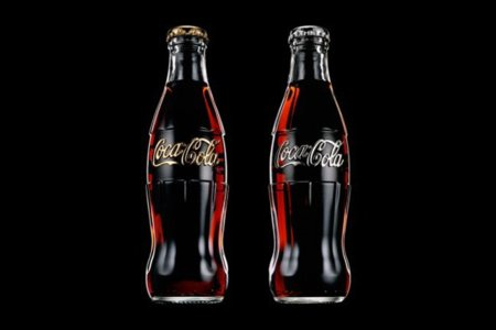 Box Set de dos botellas de Coca-Cola Daft Punk