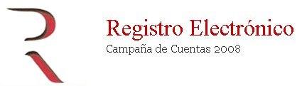 Depósito de cuentas 2008: presentación telemática al Registro Mercantil