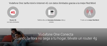 Vodafone extiende la limitación de velocidad a 20 Mbps en One Conecta a los antiguos clientes