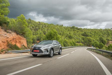 Lexus RX450h Silver