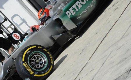 El Gran Premio horribilis de Michael Schumacher