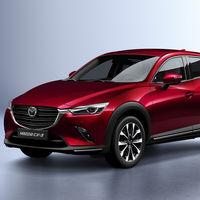 El Mazda CX-3 se actualiza en 2018: motores más limpios, aspecto renovado y más tecnología