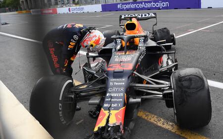 Verstappen Baku F1 2021