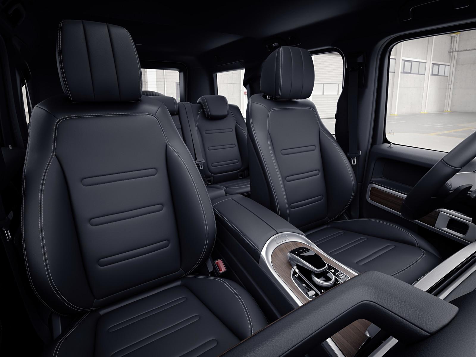 Foto De Mercedes Benz Clase G 2019 Interior 2 8