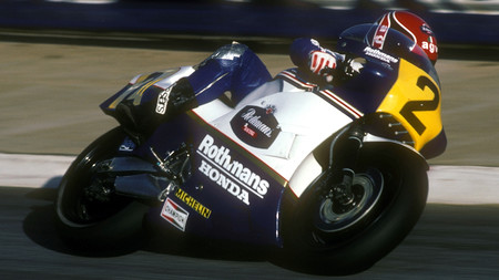 Mamola Honda Estoril 1985 500cc