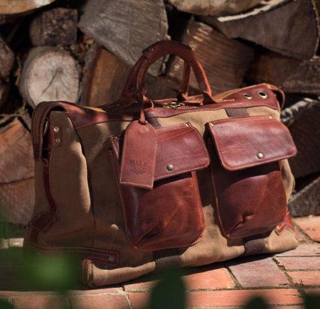 Mochila de viaje de Will Leather Goods