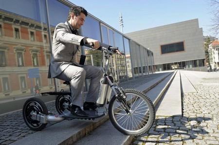 LGM presenta un curioso triciclo eléctrico