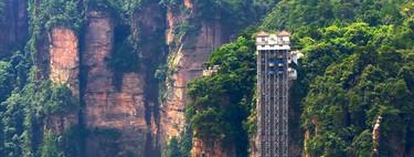 El Ascensor de los Cien Dragones, el elevador exterior más alto del mundo y un gran intruso en un Patrimonio de la Humanidad