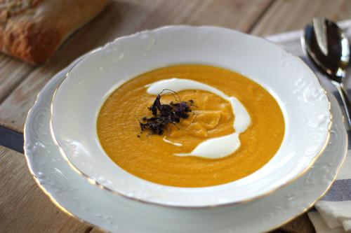 Crema Crecy de zanahorias, la receta ideal para las cenas de primavera
