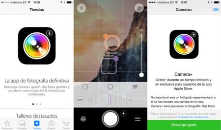 Camera+, gratis por tiempo limitado a través de la app Apple Store
