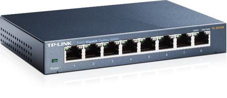 TP-Link Switch TL-SG108E, calidad y facilidad para la conexión LAN de la empresa