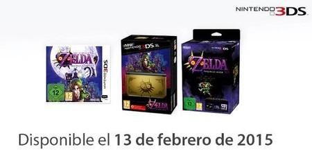 La edición especial de The Legend of Zelda: Majora's Mask en New Nintendo 3DS XL es puro amor